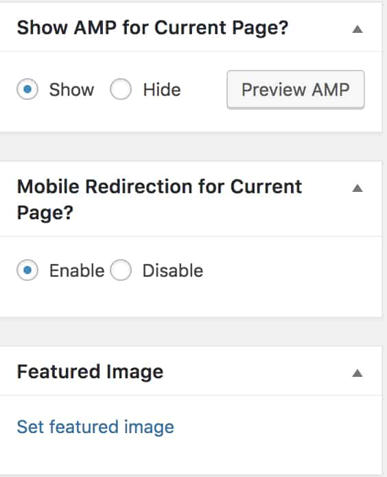 how to set up google amp on wordpress